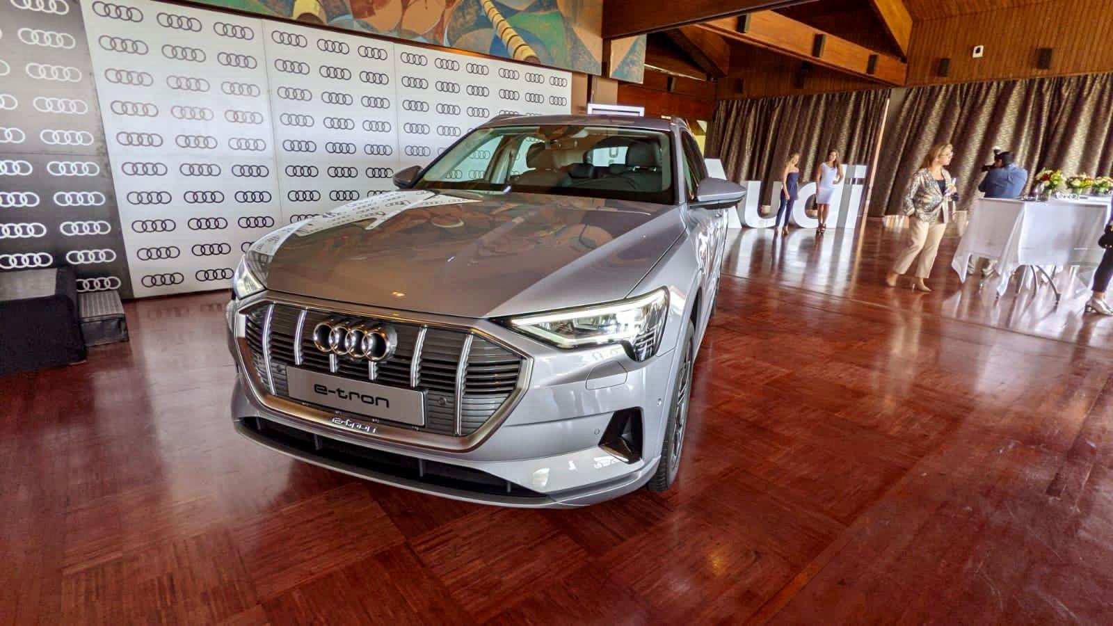 Audi e-tron llegó a Ecuador
