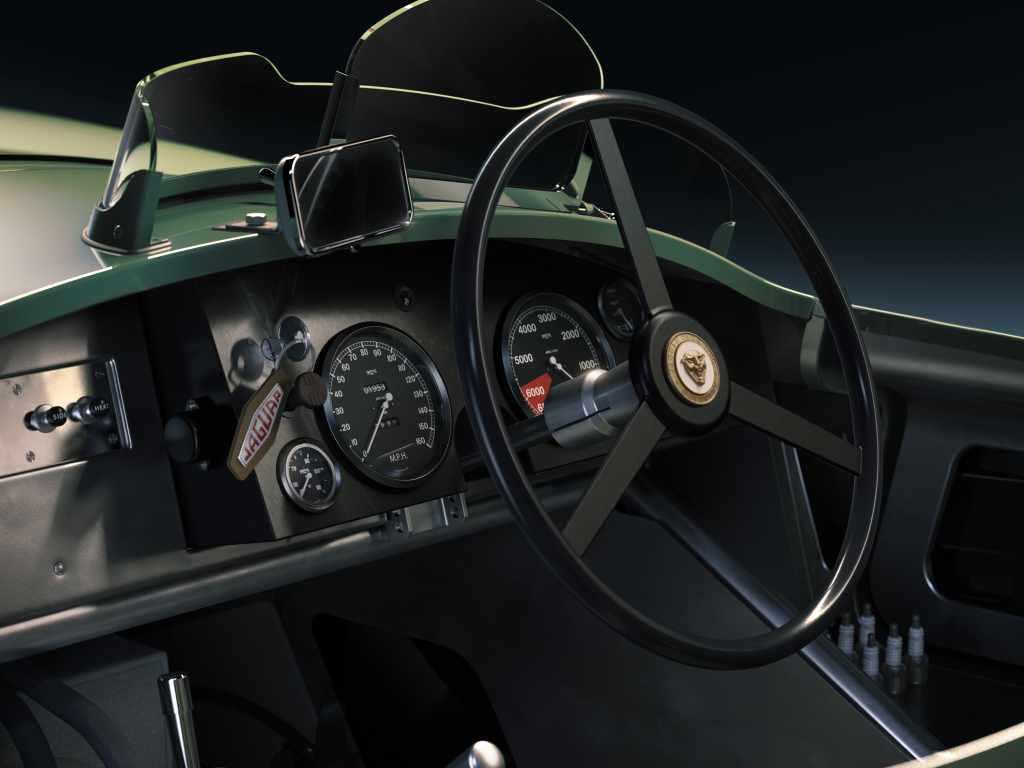 Jaguar celebra los 70 años del C-Type