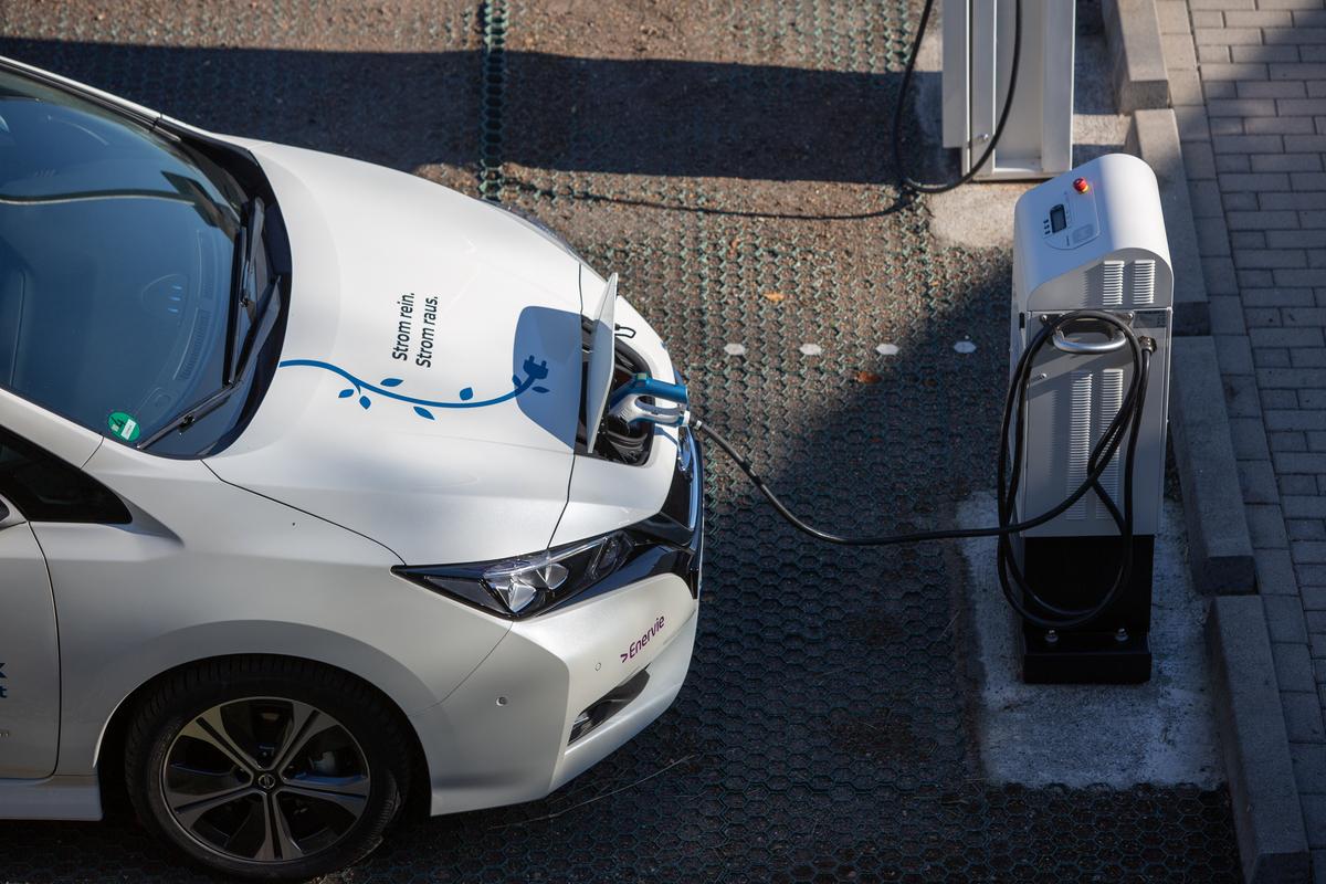 Nissan reutiliza sus baterías