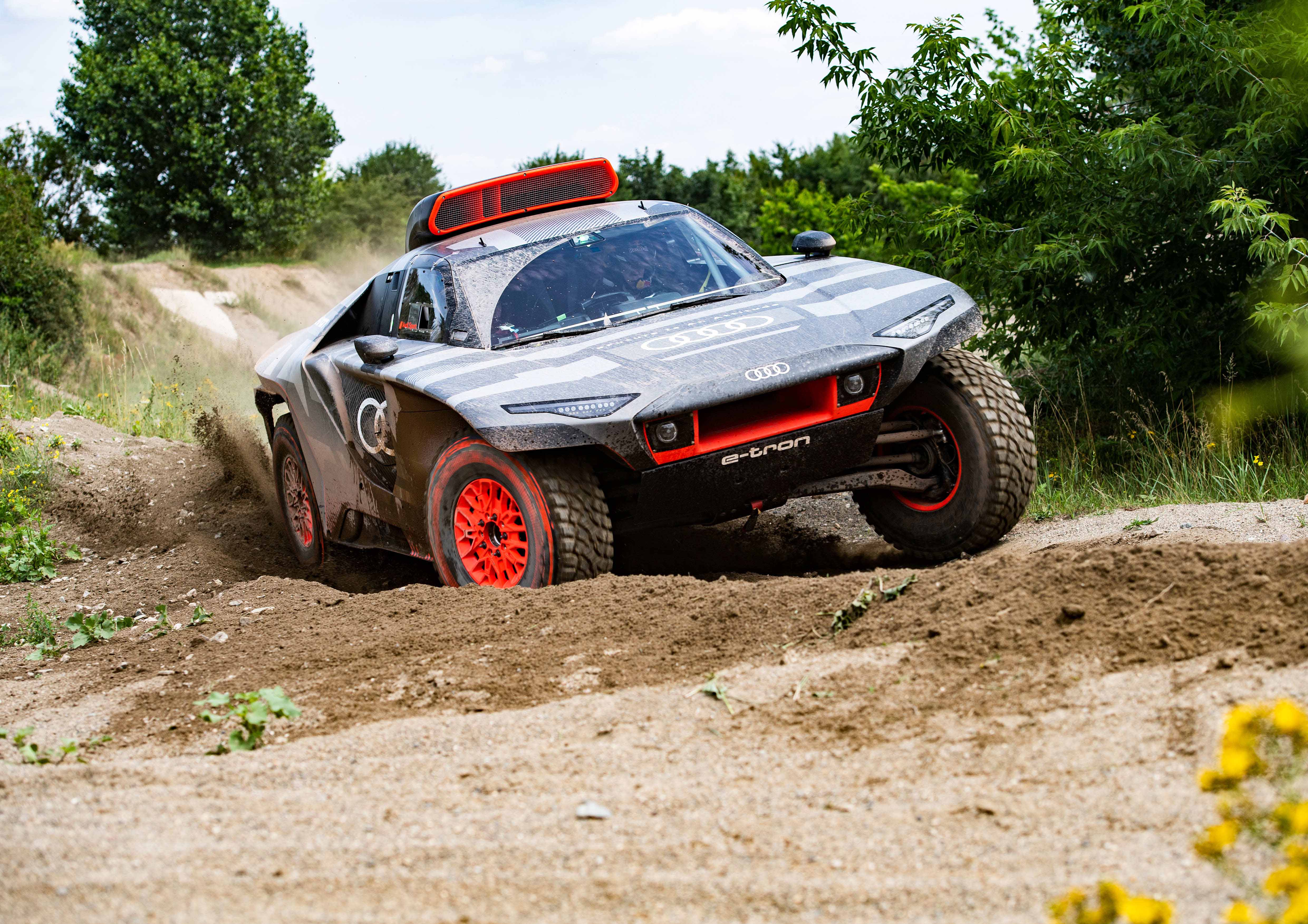 Audi no se guarda nada para el Dakar 2022