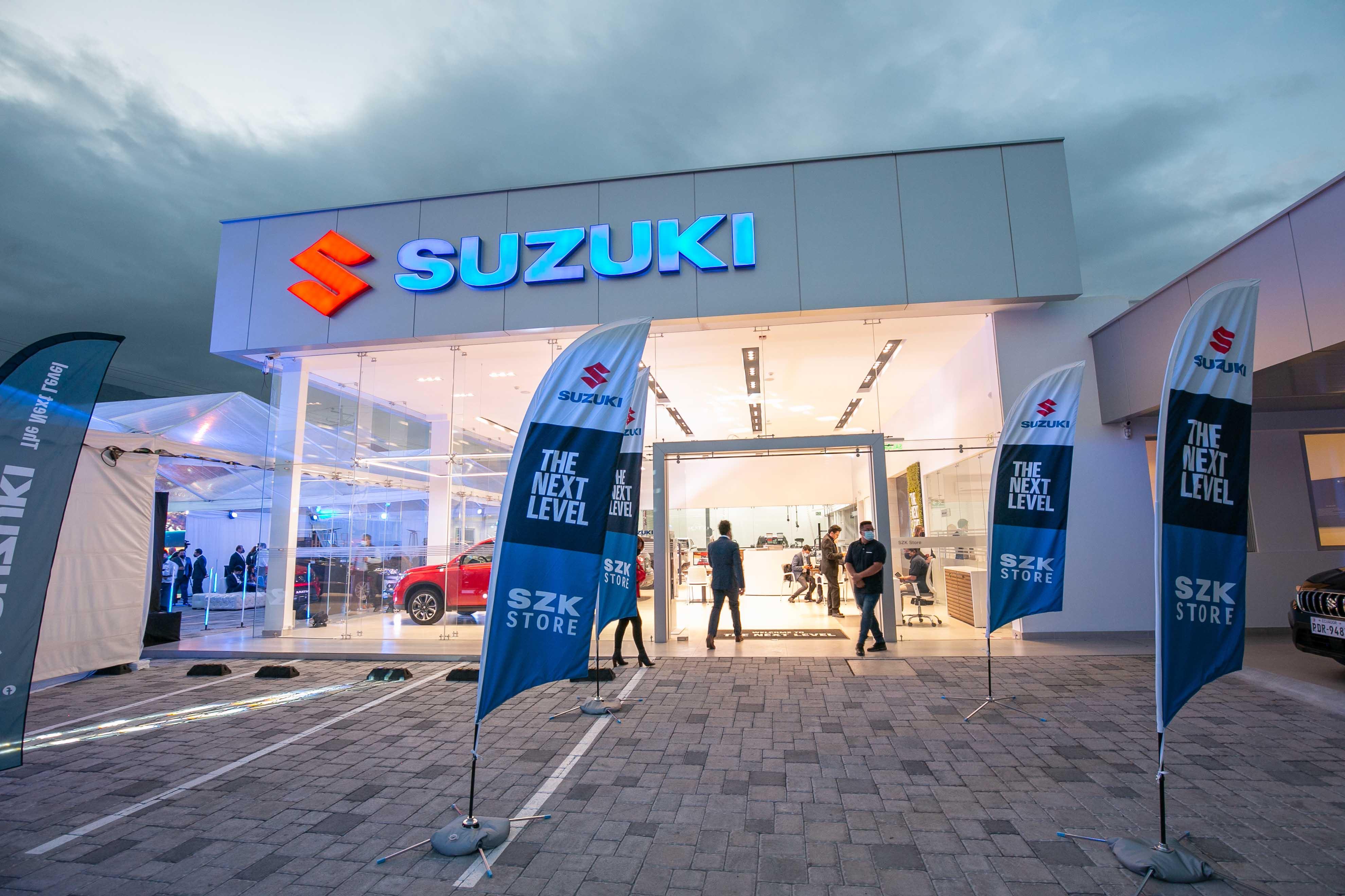 Suzuki estrenó sus concesionarios SZK Store