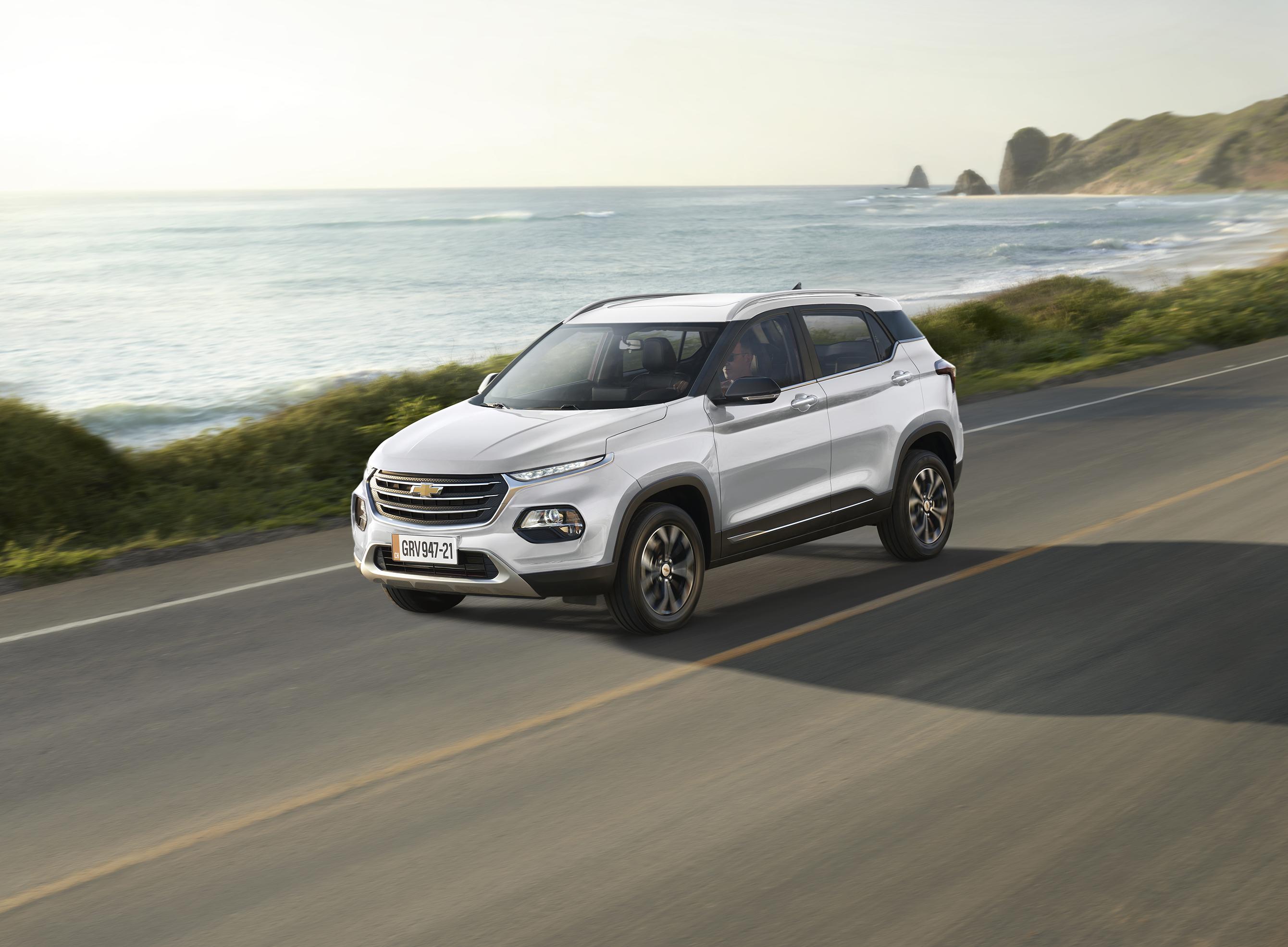 El Chevrolet Groove aterrizó en Ecuador
