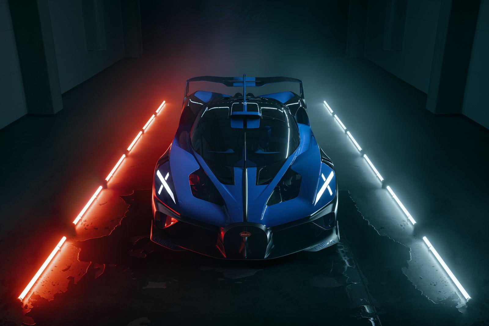Bugatti Bolide, una oda a la brutalidad